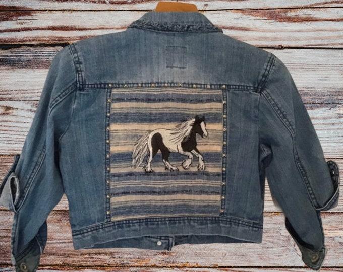 Gypsy Vanner jacket  Girls SZ L/Ladies sz XXS