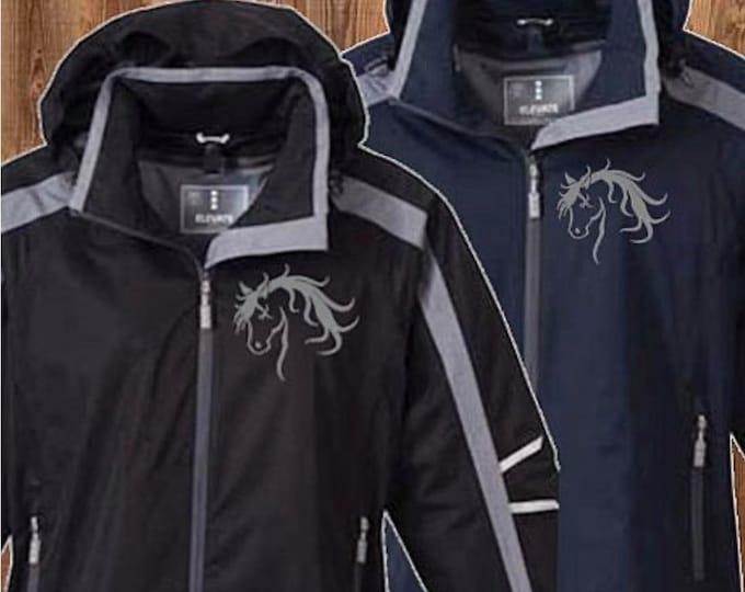 Ladies horse Rain Coat