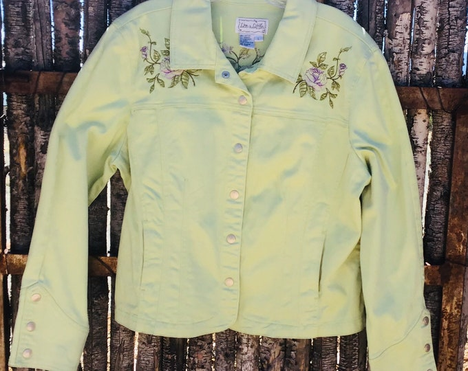 Embroidered Jacket SZ XL