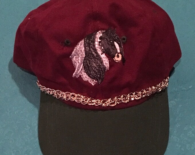 Cute Gypsy Hat with BLING chains