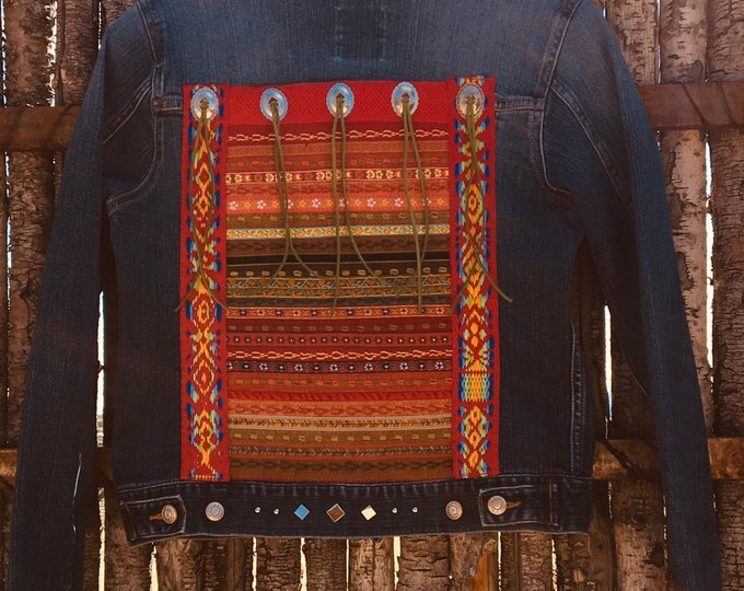 Southwest jean beauty! SZ SM/MED