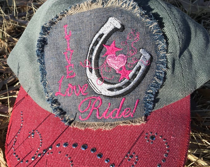 Cowgirl hat! Live, Love, Ride!