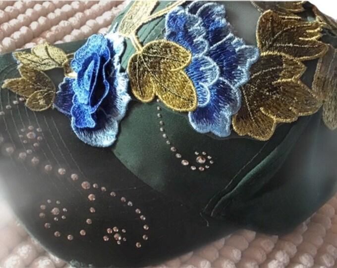 Flower Bling Cap