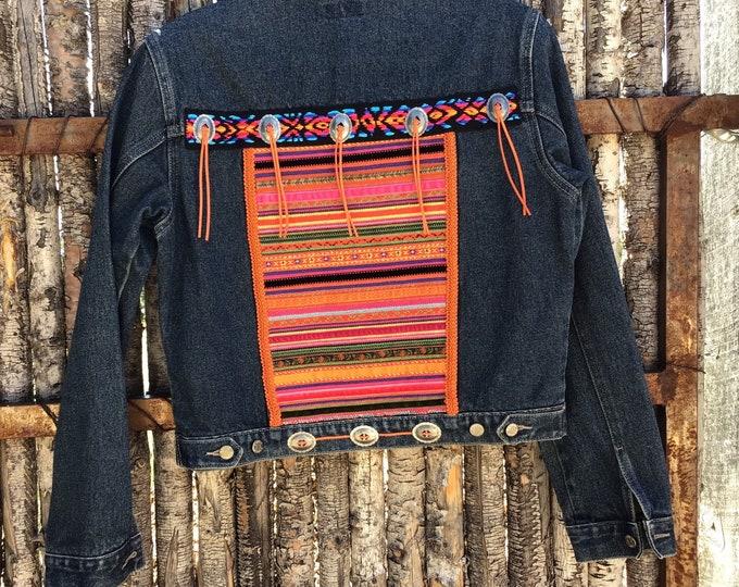 Vibrant Southwestern Jacket sz M