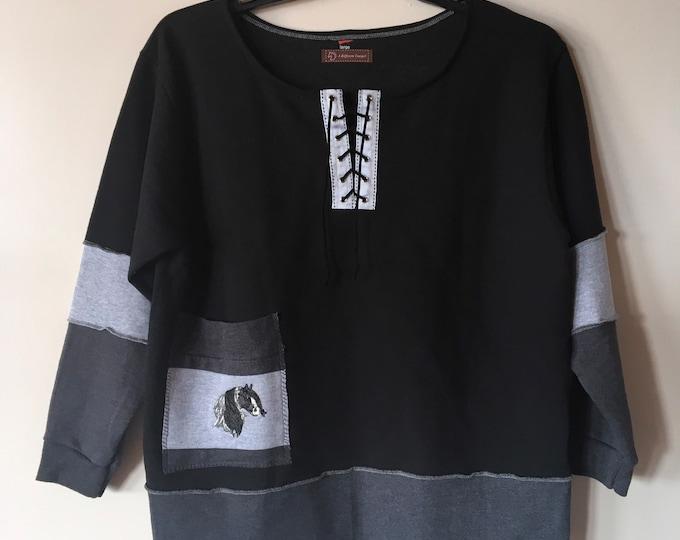 NEW sweatshirt, SZ L Gypsy Vanner