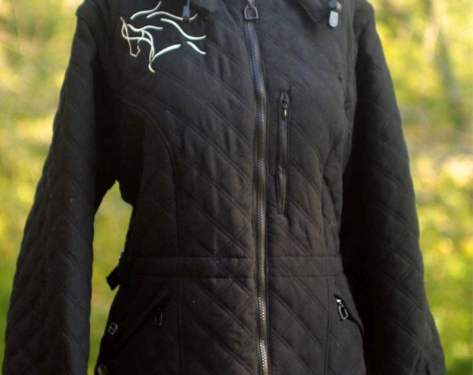 Beautiful convertible horse jacket/vest