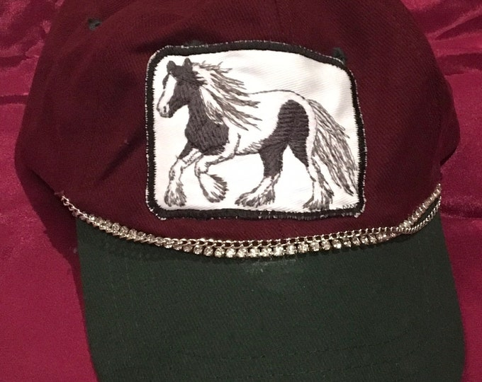 Cute offset patch Gypsy hat!