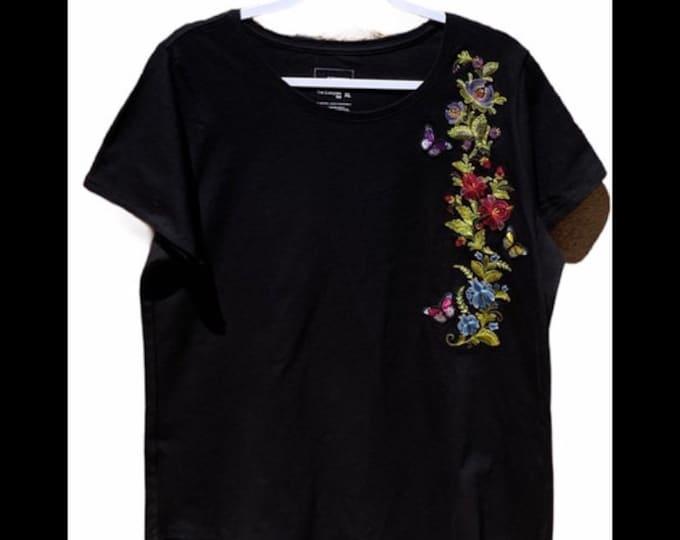 Ladies Sonoma embroidered top