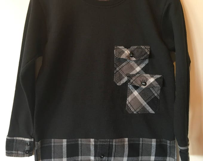 Sweatshirt tunic, SZ Small