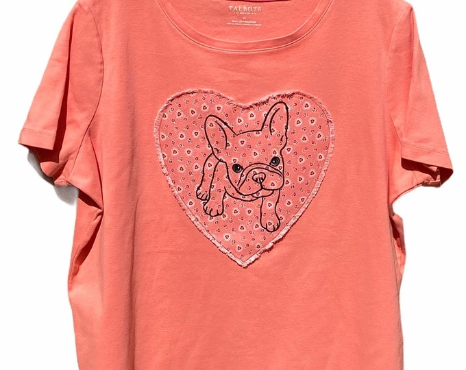 Women's Frenchie top SZ 1X