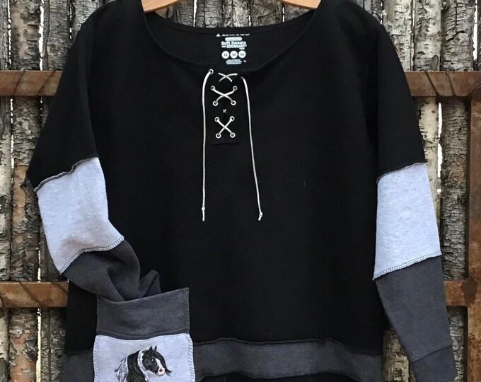 Super cool Gypsy sweatshirt! SZ M