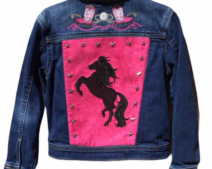 Girls cowgirl jacket SZ 7/8