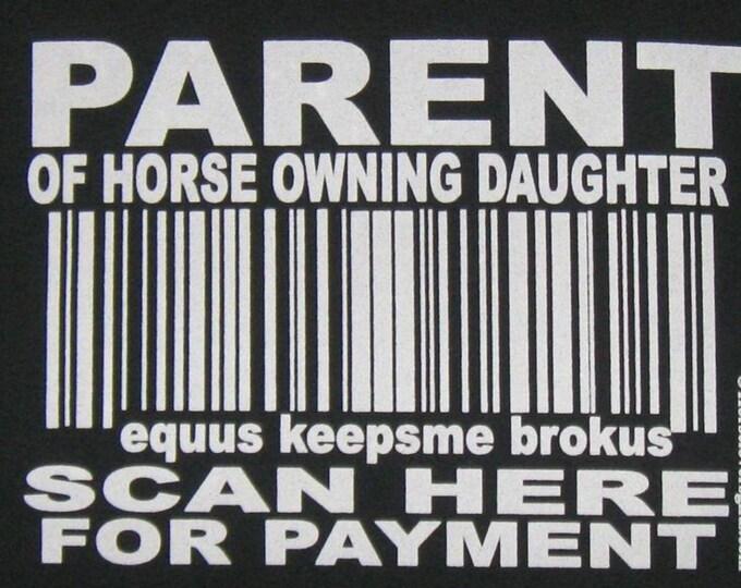 Hoody! Perfect horse parent top!!