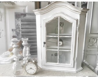 corner cabinet, shabby chic, wardrobe, vintage, country style, brocante