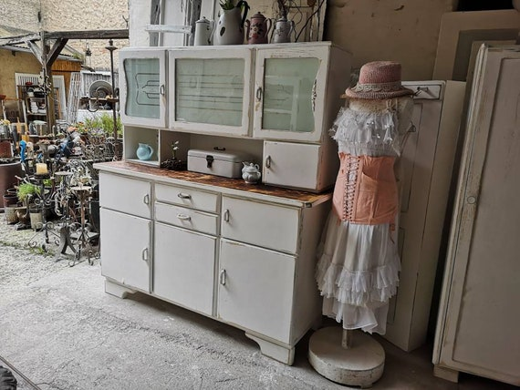 Kitchen Buffet Shabby Chic Vintage Country House Kitchen Closet Buffet