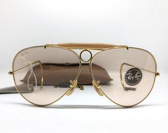 60399a855e218 NOS USA ray ban b lshooter changables lens brown Rare