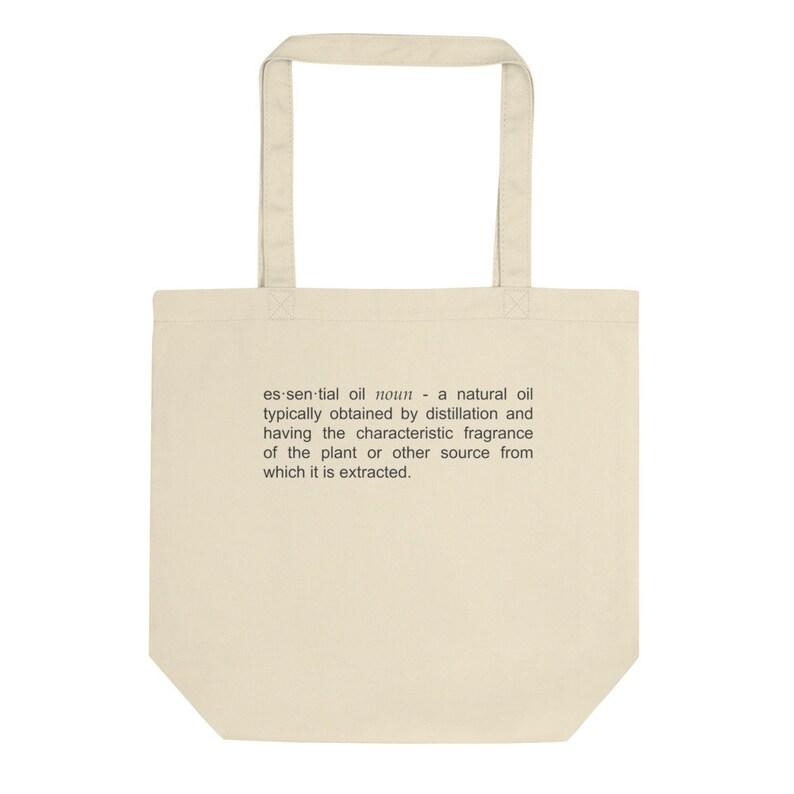 Essential Oils Definition Eco Tote Bag