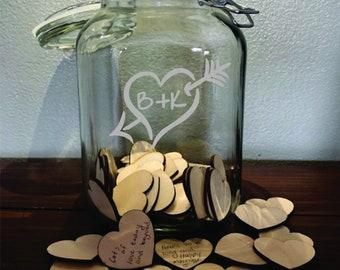 Wedding Wish Jar Etsy