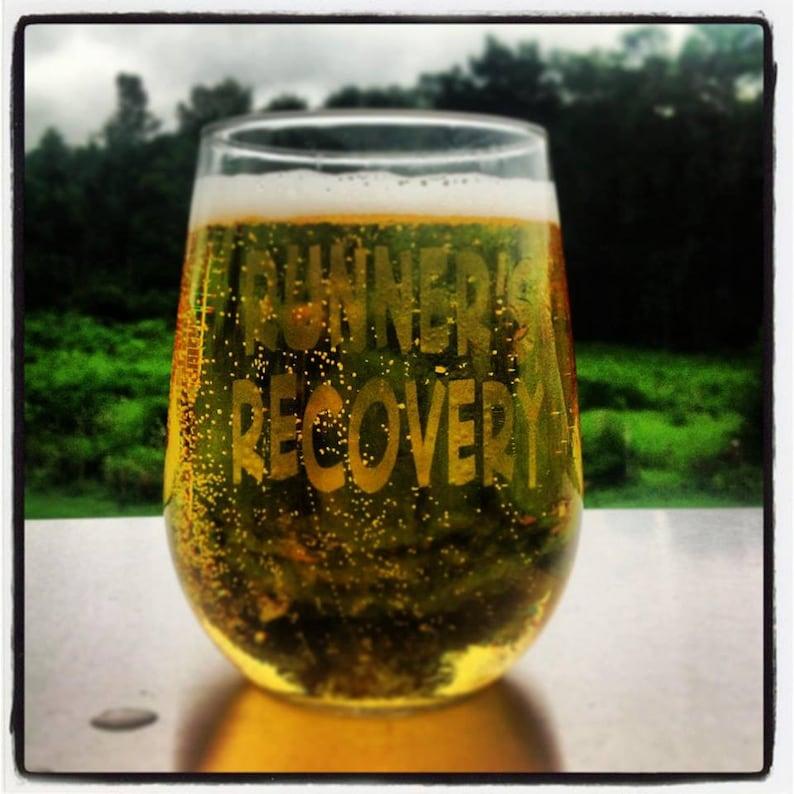 Runner's  Recovery Choice of Pilsner Beer Mug Pub Wine image 1