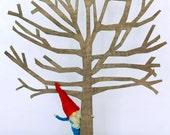 Waldorf Inspired Bendy Doll,  Red Cap Gnome, Nisse, Elf, Fairytale figure