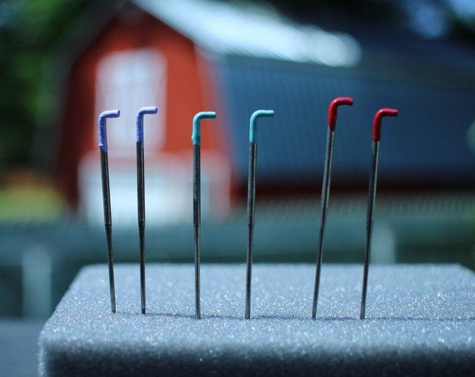 Felting Needles, Color Coded Felting Needles