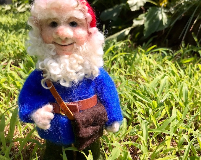 Gnome, Art Doll, Nisse,Tomte