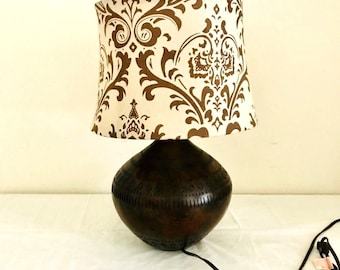 Round Table Lamp Etsy