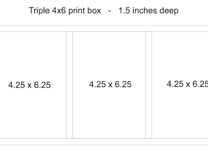 4x6 other print box - AutumnWoodWork