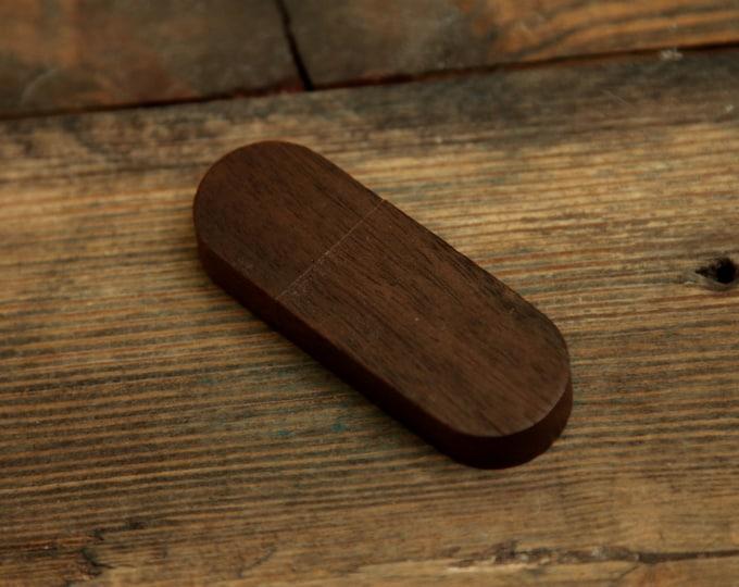 16gb FAST USB 3.0 - Black Walnut wood flash drive