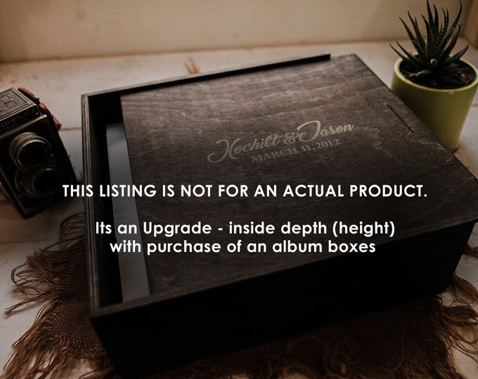 Album box upgrade - inside depth (height)