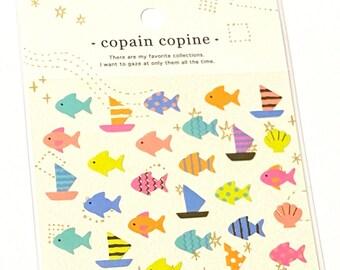Mind Wave Japan Summer Sticker Cat Goro Goro Nyansuke Bundle Point Calendar