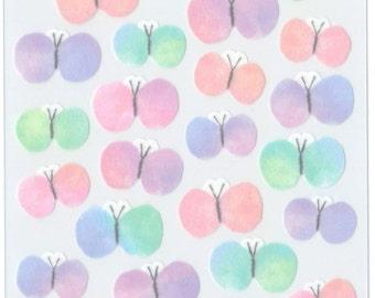 Kawaii Japan sticker Sheet Assort: Masking Seal Polka Dot | Etsy