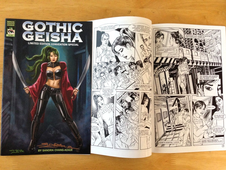 Gothic Geisha LImited Edition Convention 24-page Comic Book 1 image 0