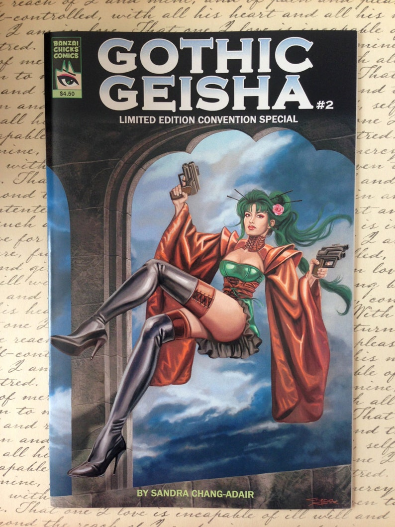 Gothic Geisha LImited Edition Convention 24-page Comic Book 2 image 0
