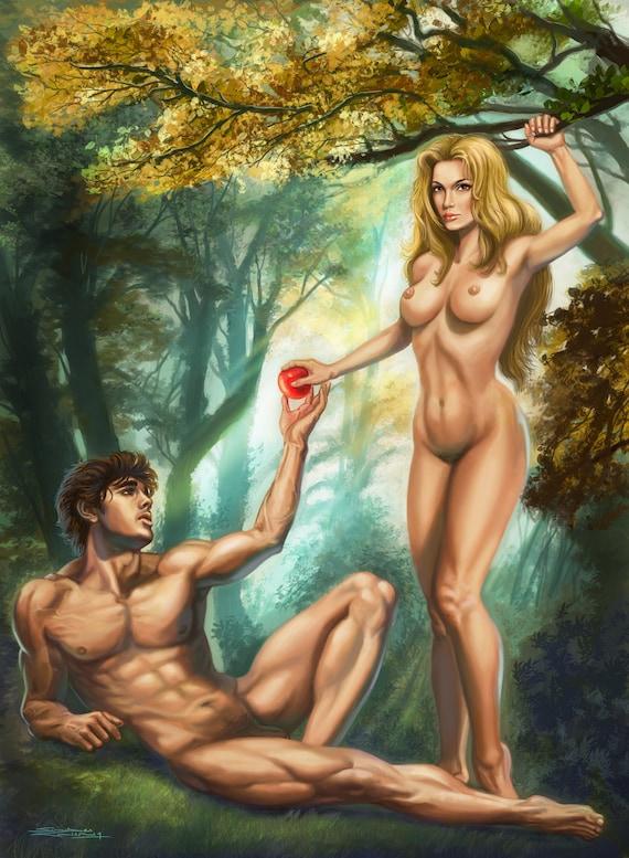 Adam And Eve Erotic