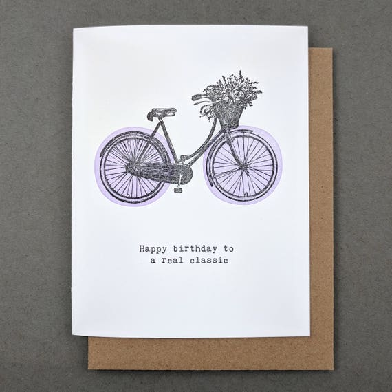 c73882daf86a Funny birthday card  Happy birthday to a real classic
