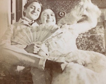 Cross Dressing Victorian Photo Not Exactly a Boy