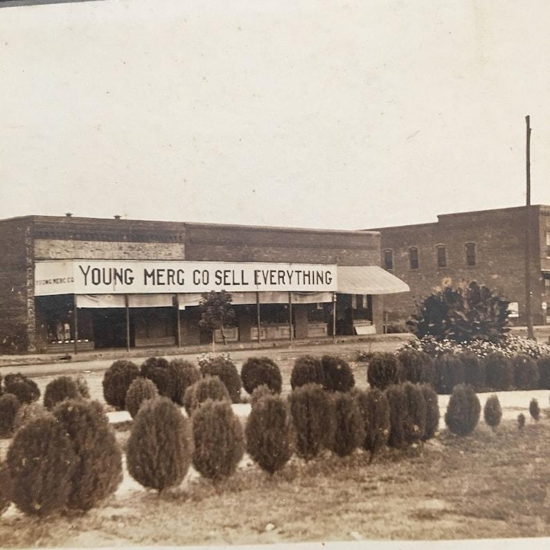 Heavener Oklahoma Vintage Photo Main Street image 0