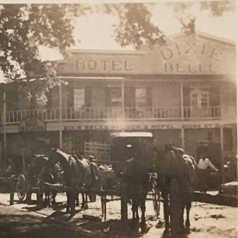Pineville MO Vintage Photo Hollywood Movie Set Jesse Kames image 0