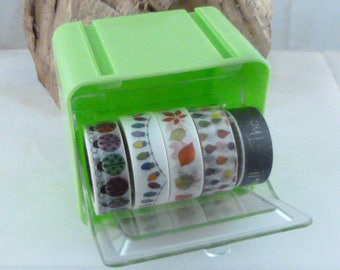 Washi Tape Holder Organizer, Washi Tape Storage Dispenser, Stackable