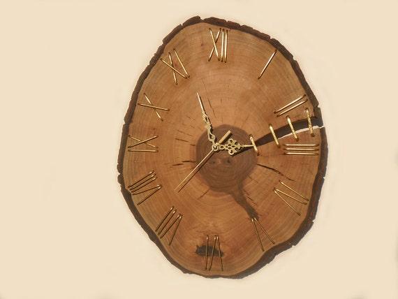 16 Unique Walnut Wall Clock Etsy