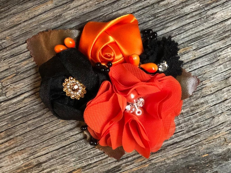 perfect for halloween! Black and orange