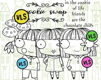 CookieSwap - 6 digi stamps
