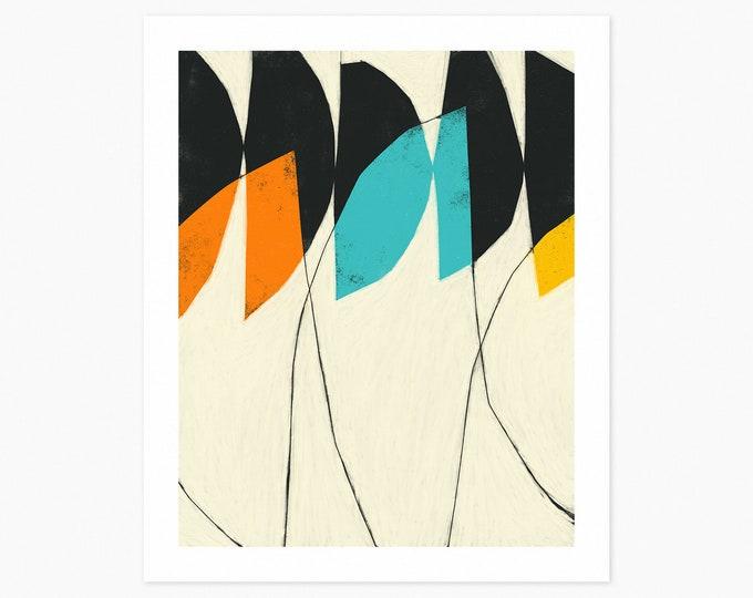 UNDERPASS (Fine Art Print) Colorful, Modern, Abstract Wall Art