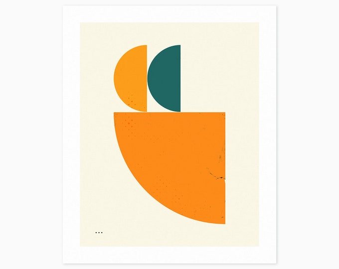 DEAD WEIGHT (Fine Art Print) Geometric, Minimal, Abstract Wall Art