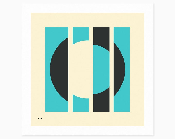 MISSING 1.3 (Fine Art Print) Minimal, Geometric, Abstract Wall Art