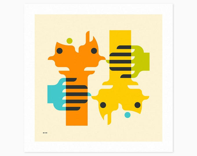 CLOSER (Fine Art Print) Minimal, Geometric, Abstract Wall Art