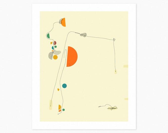 DÉJÀ VU 11 (Fine Art Print) Minimal Abstract Art by Jazzberry Blue