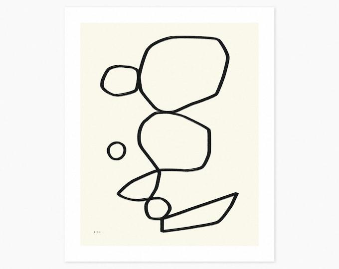 DETAILS 6 (Fine Art Print) Minimal Abstract Art by Jazzberry Blue