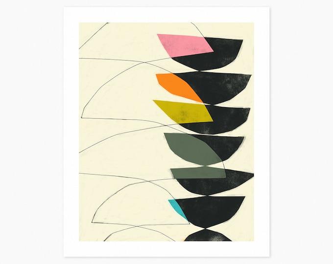 DAYDREAM (Fine Art Print) Colorful, Modern, Minimal, Abstract Wall Art